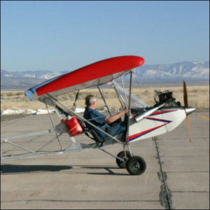 Affordaplane ultralight airplane